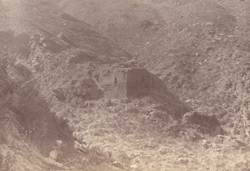 Unidentified ruins in the Swat Valley 10031148